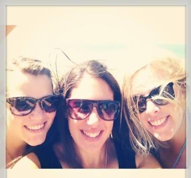 Ash, Katia and Sam.