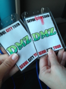 Our DMZ tickets